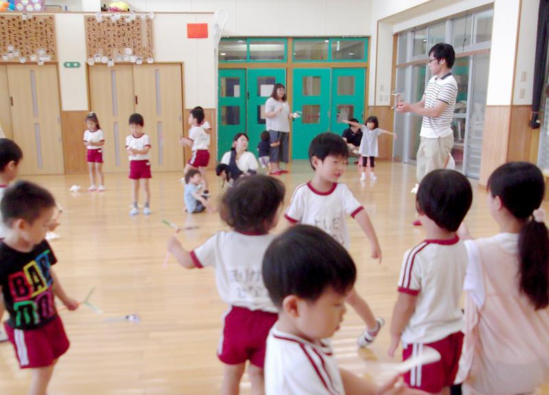 未就園児教室 宮崎県宮崎市の学校法人大宮学園 芳士幼稚園